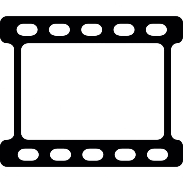 Blank film strip Icons Free Download