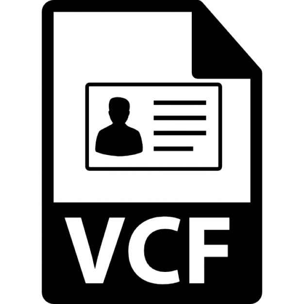 VCF file format variant Icons Free Download