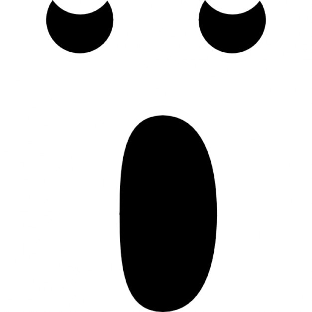 Friendly Ghost Face Template Printable