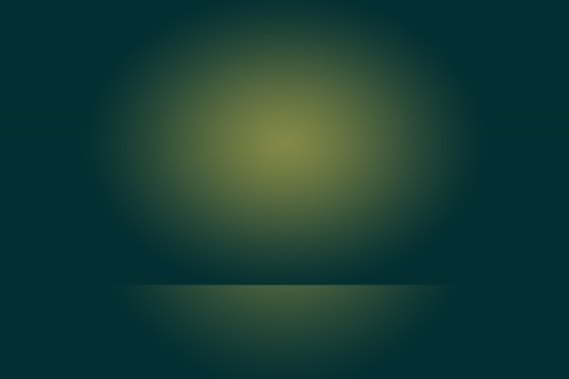 Abstract green gradient room background Photo Premium Download