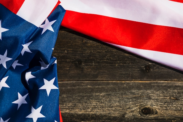 American flag background with copyspace Photo Free Download