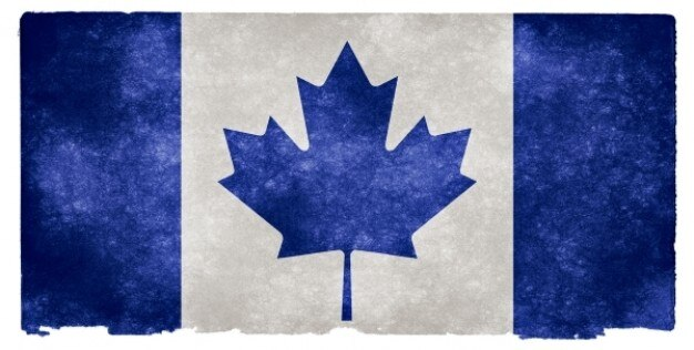 3d Stone Wallpaper Canada Canada Grunge Flag Blue Photo Free Download