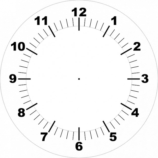 Face printable clock Photo Free Download - clock templates