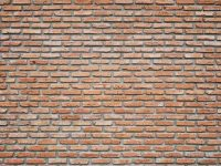 Old vintage brick wall Texture Design. Empty red brick