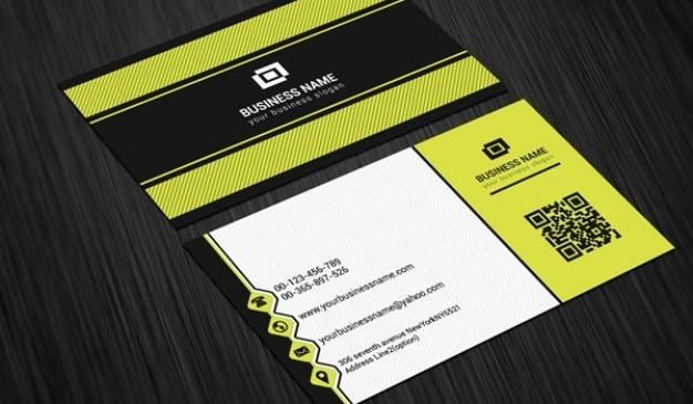 Scratch business card template PSD file Free Download