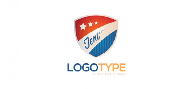 Security logo design template PSD file Free Download