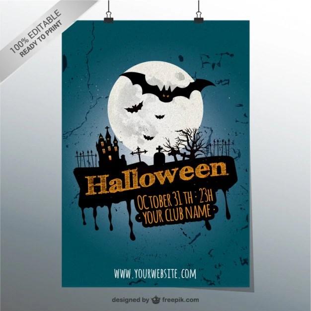 halloween party poster - Romeolandinez - blank halloween flyer templates