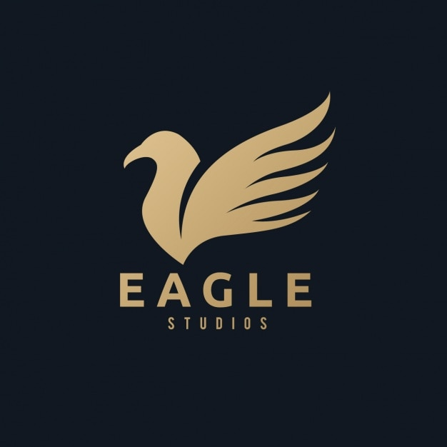 Commercial Pilot Wallpaper Hd A Golden Eagle Logo On A Black Background Vector Free
