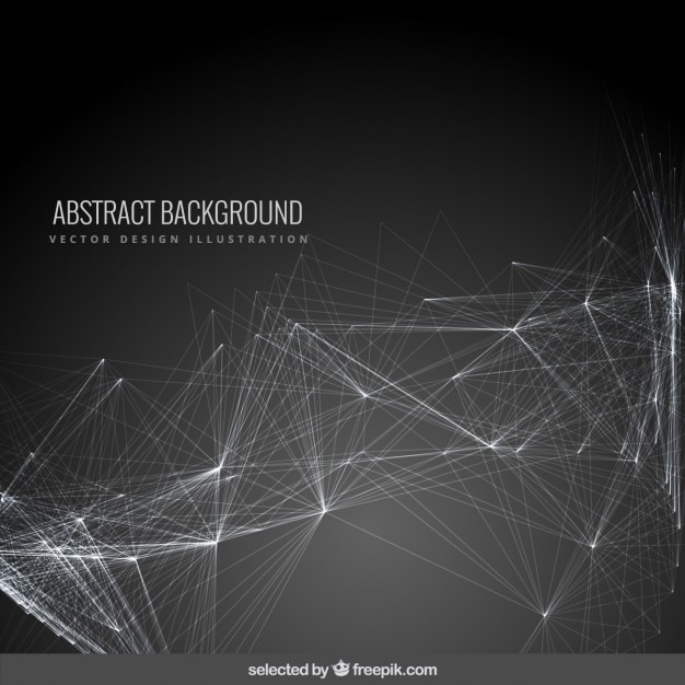 Abstract background with a mesh Vector Free Download