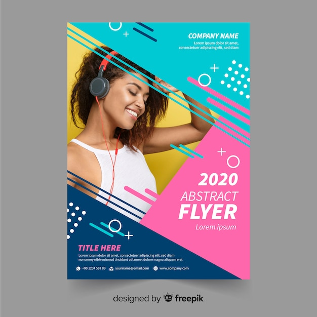 Flyer Design Vectors, Photos and PSD files Free Download