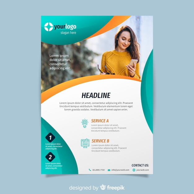 Flyer Vectors, Photos and PSD files Free Download