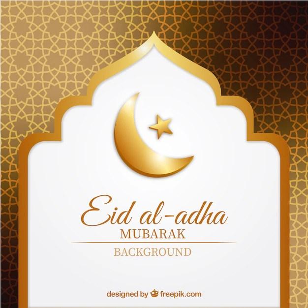 Rakhi 3d Name Wallpaper Abstract Golden Background Of Eid Al Adha Vector Free