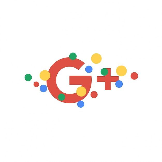 Abstract Google Plus wallpaper background Vector Premium Download