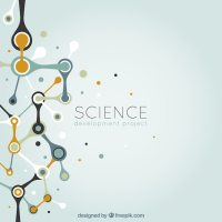 Abstract science background Vector | Free Download