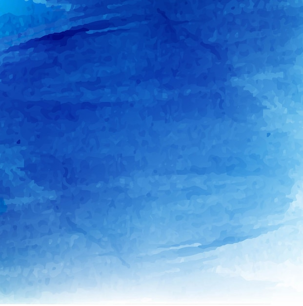 Download Vector - Artistic background with watercolors, blue