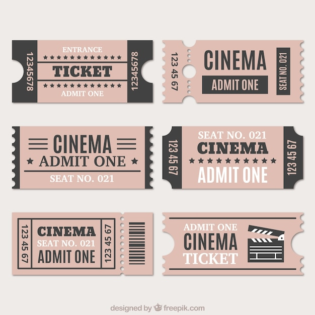 Ticket Vectors, Photos and PSD files Free Download - admit one ticket template