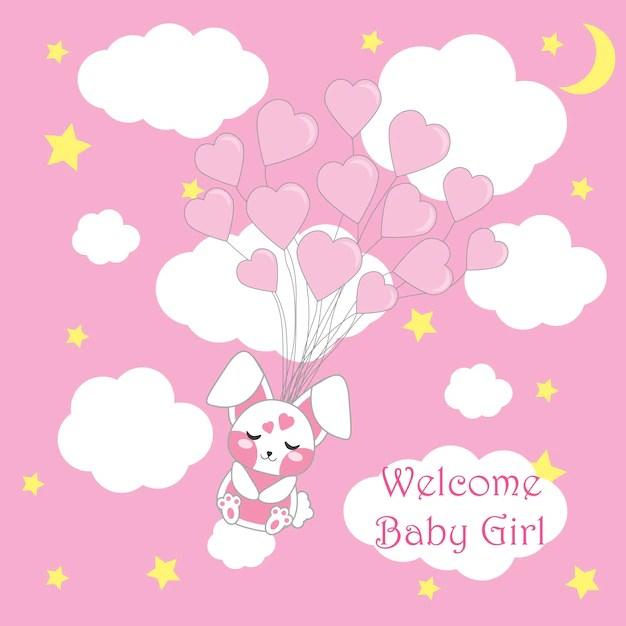 Cute Elephant Design Wallpaper Baby Shower Background Design Vector Free Download