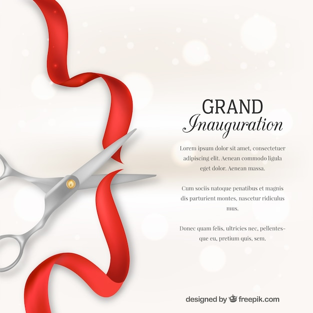 Inauguration Vectors, Photos and PSD files Free Download