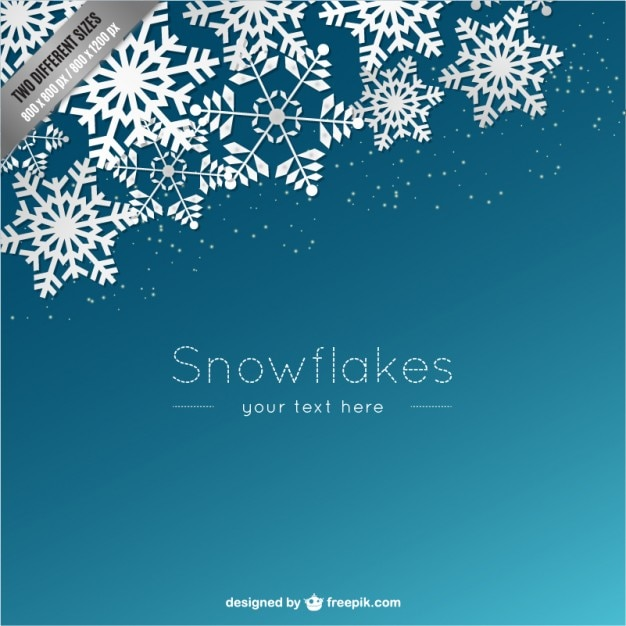 Snowflake Border Vectors, Photos and PSD files Free Download - snowflake borders for word