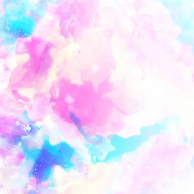 Cute Bunny Wallpaper Hd Background Texture Watercolor Pink And Blue Vector Free