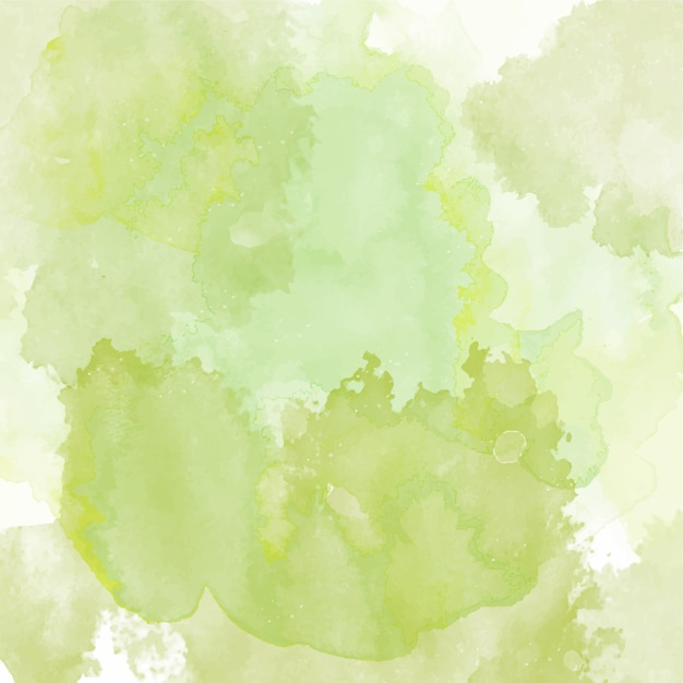 Cute New Wallpaper Download Background With A Green Watercolor Texture Vector Free