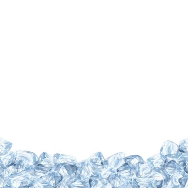 Background with ice design Vector Premium Download