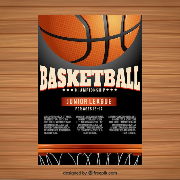 Basketball Vectors, Photos and PSD files Free Download - basketball flyer example