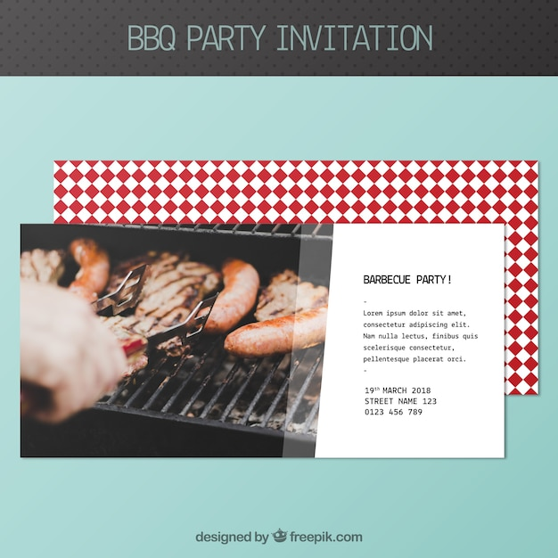Bbq invitation template Stock Images Page Everypixel
