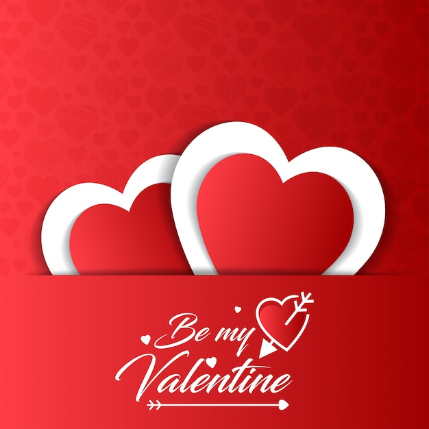 Valentines Card Templates Word valentines vectors, photos and psd