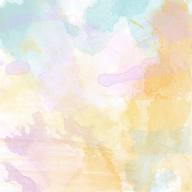 Pretty Fall Wallpapers Beautiful Hand Painted Watercolor Background Vector Free