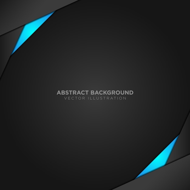 Black and blue background Vector Free Download