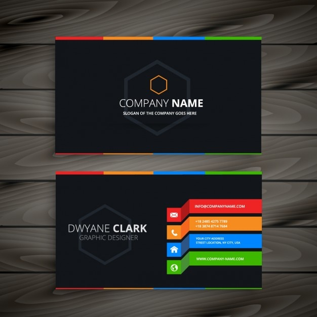 Shutterstock Hd Wallpapers Black Business Card Vector Free Download