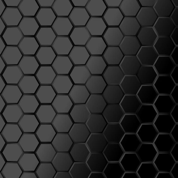Wallpaper Hd Portrait Orientation Black Hexagone Texture Background Vector Premium Download