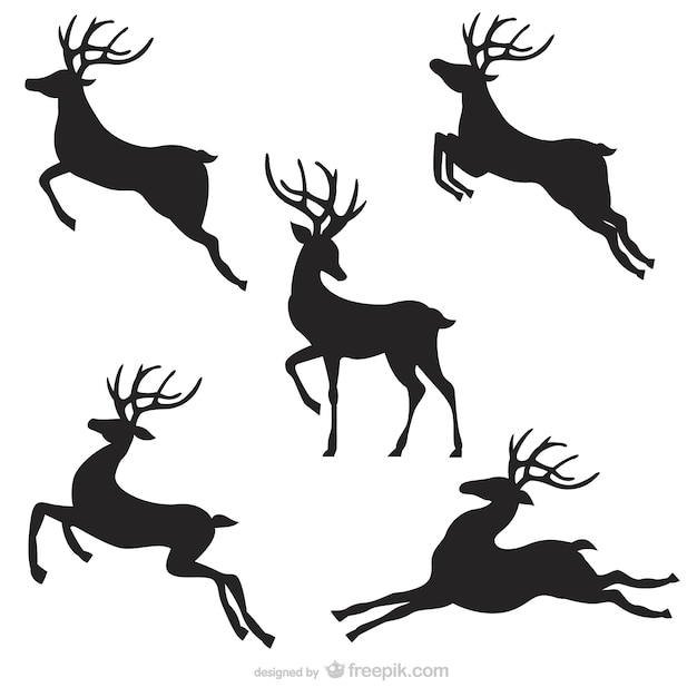 Reindeer Vectors, Photos and PSD files Free Download