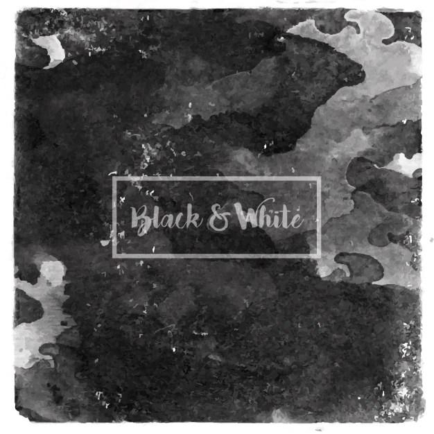 Black watercolor background Vector Free Download