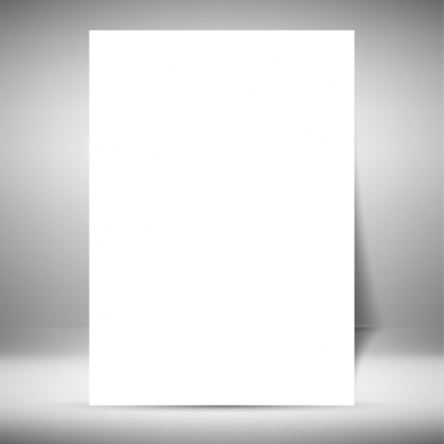 Blank brochure template Vector Free Download - blank brochure
