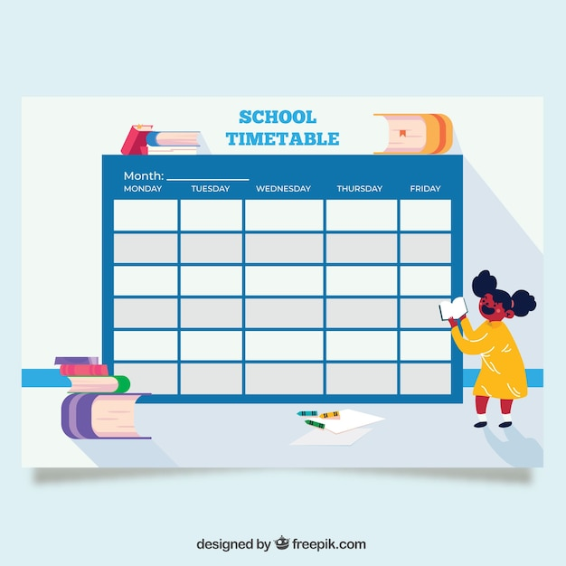 School Timetable Template Free Download  High School Timetable Template Excel Time Table Format