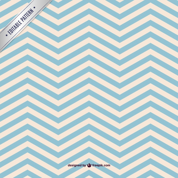 Cute Zig Zag Wallpapers Blue Chevorn Seamless Pattern Vector Free Download