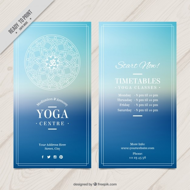 Blue Yoga Flyer Stock Images Page Everypixel