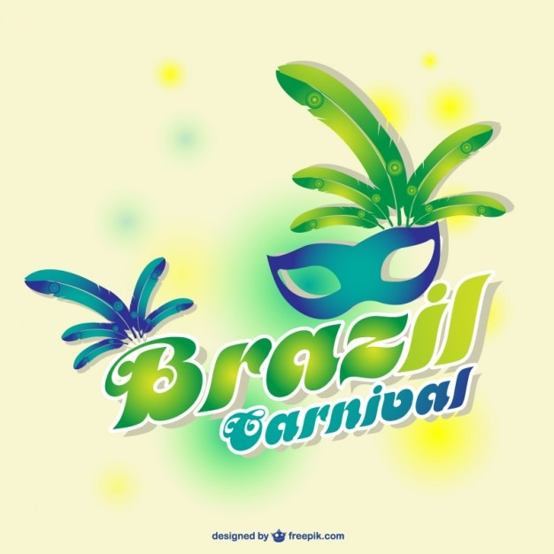 Brazil carnival design Vector Free Download - free carnival sign template