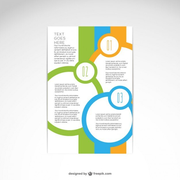 Pamphlet Layout - vheo - free pamphlet design