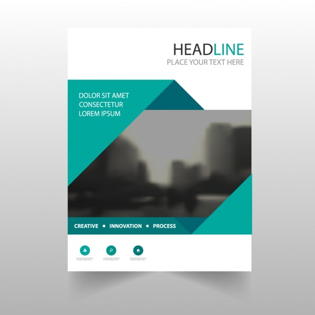 like the curved header and TOC down the side Business Newsletter - annual report cover page template