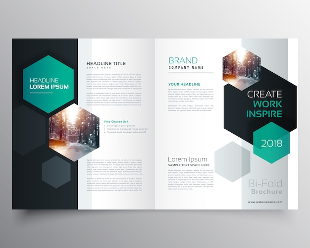 Magazine Layout Vectors, Photos and PSD files Free Download - Company Brochure Templates