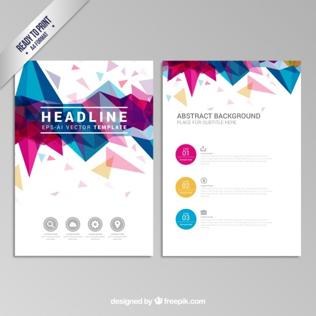 Pamphlet Vectors, Photos and PSD files Free Download - free pamphlet design