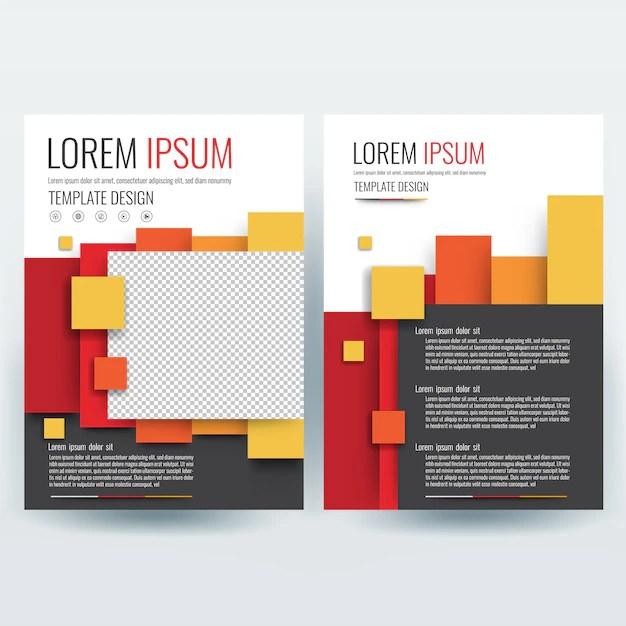 Business brochure template, flyers design template, company profile