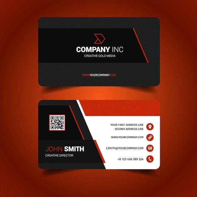 Business card design Vector Free Download - buisness card design