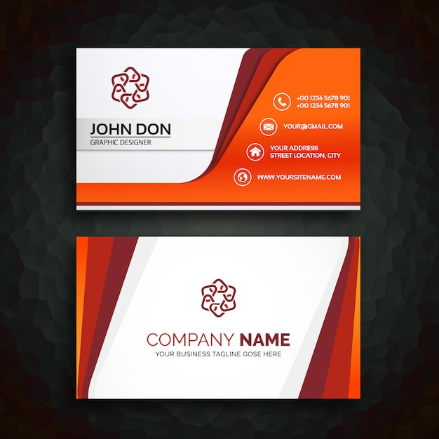 Business card template Vector Free Download - business card template