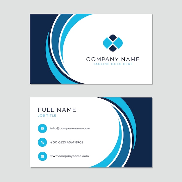 Business card template Vector Free Download - Buisness Card Template