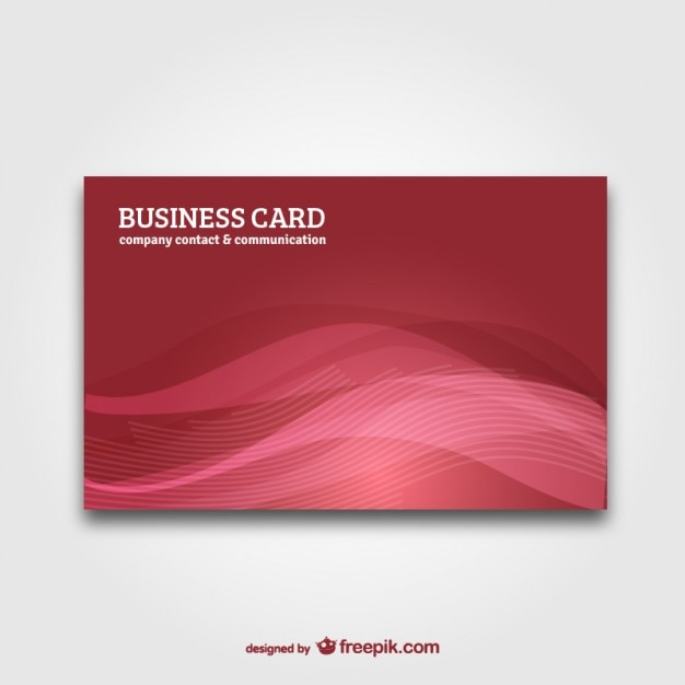 Business card with abstract background vector Vector Free Download