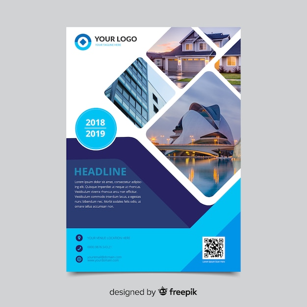 Brochure Cover Vectors, Photos and PSD files Free Download